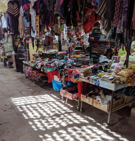 Though gaudy, tourist markets sometimes have treasures