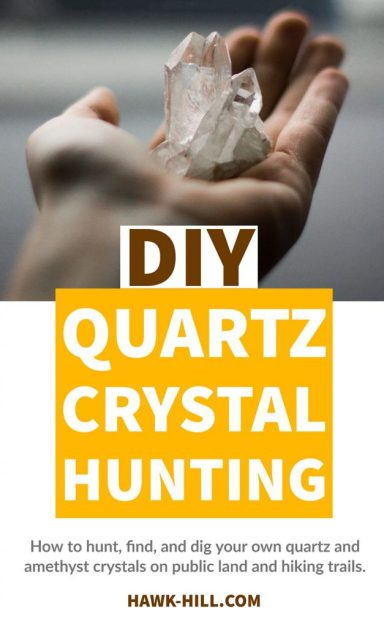 How to dig your own quartz crystal on public land