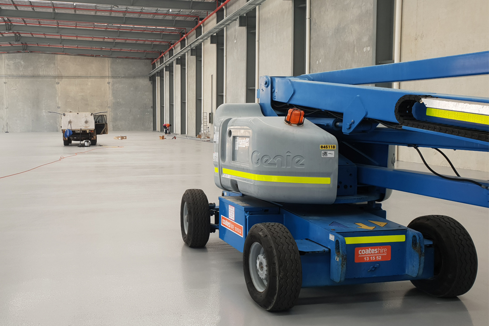 Non-Slip Industrial Floor Coating