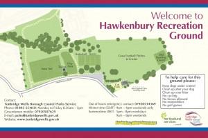 Hawkenbury_Rec_sign