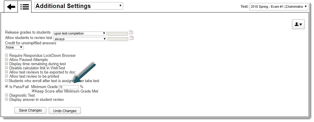 Lockdown Browser Test Link