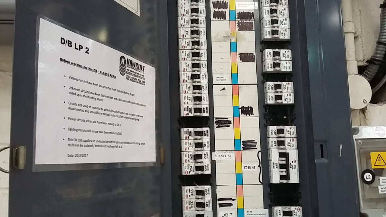 hight resolution of hawkins electrical contractors badge in fuse box