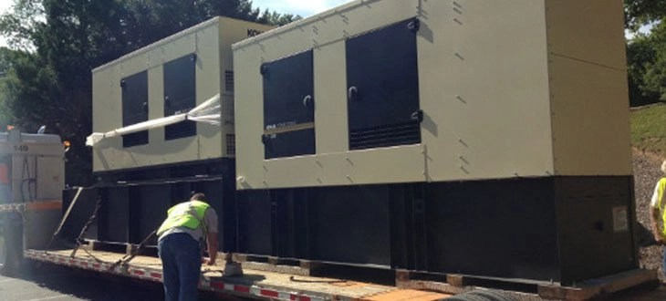Hawkins at Work: Electric Generator Replacement in Howard County