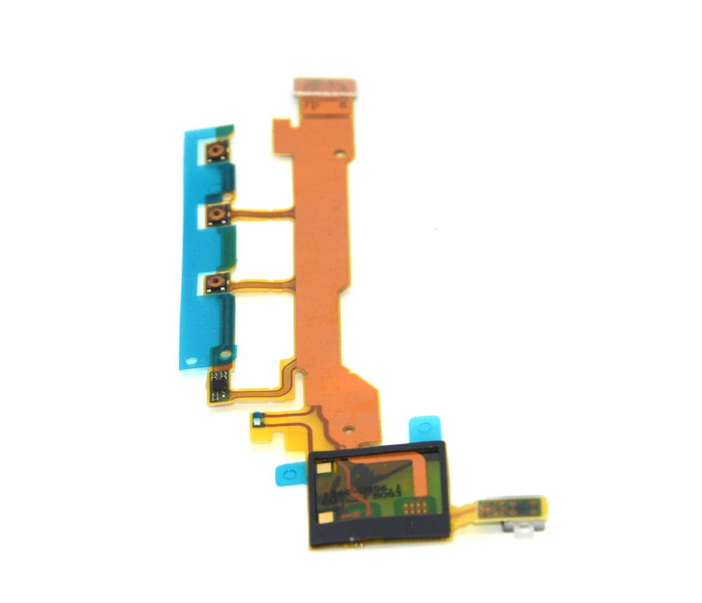 hight resolution of replacement volume power button sensor main flex cable for sony xperia z