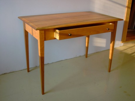 Cherry Computer Table  Hardwood Computer Desk  Made in