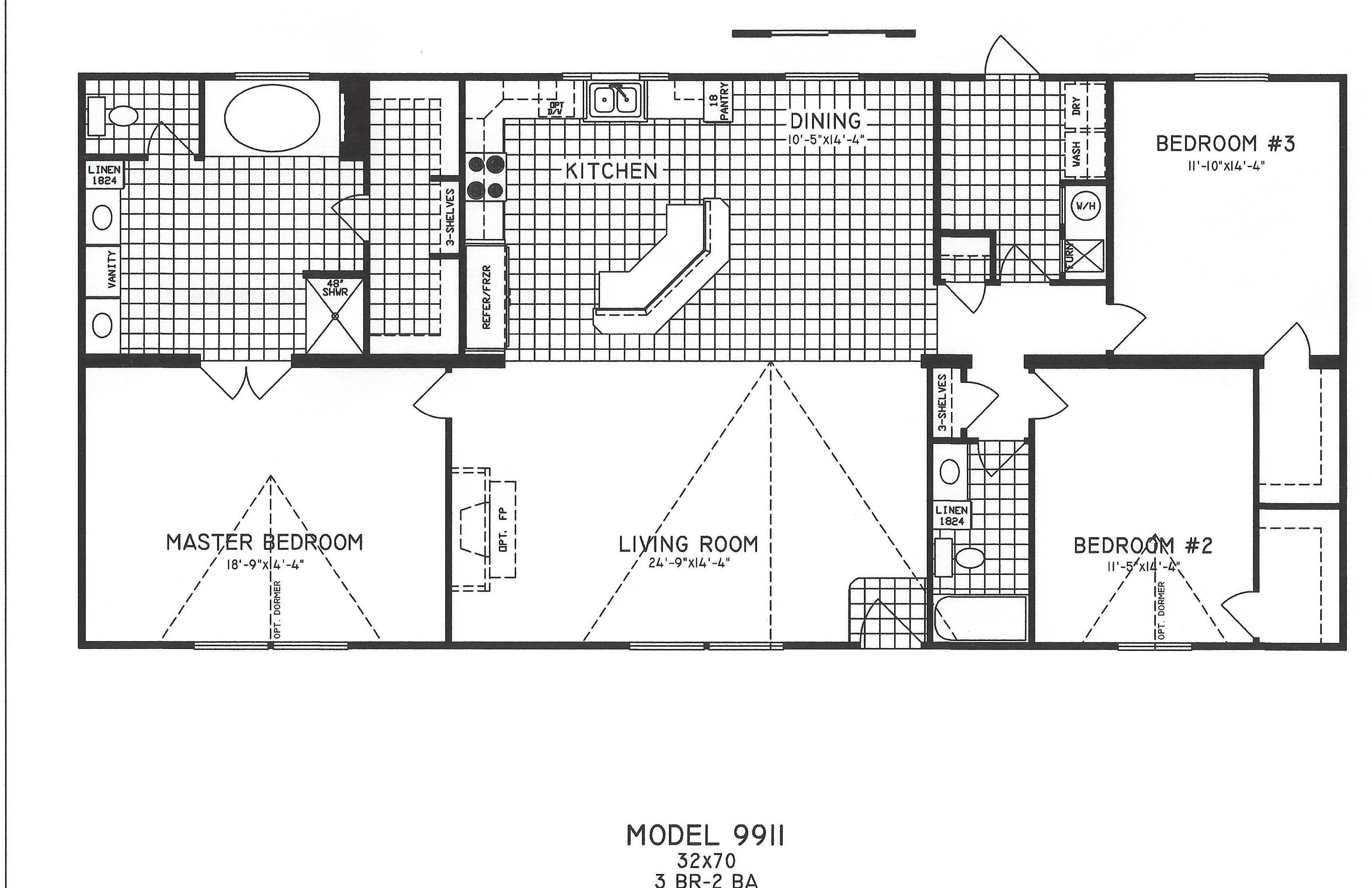 3 Bedroom Floor Plan C