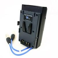 VL-RM6P | V-Lok Dual Radio Mic Holder - 25 way - Wisycom ...