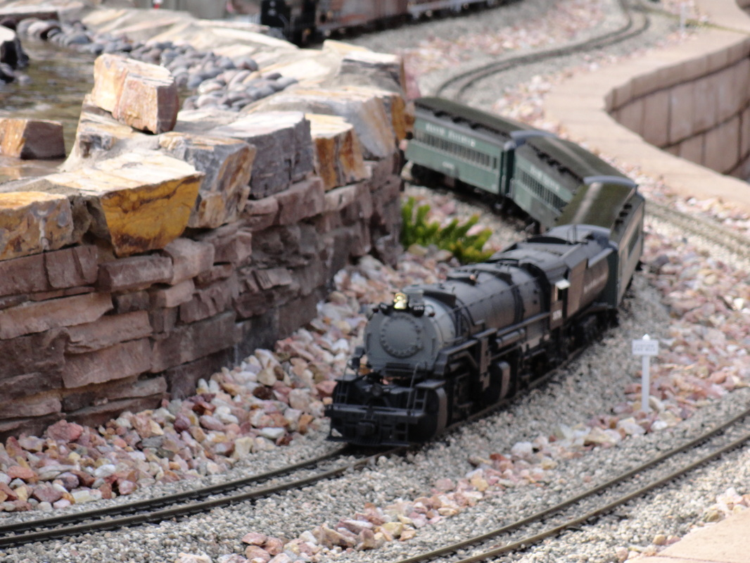 hight resolution of proper track laying methods will allow you to run whatever you desire on your railroad