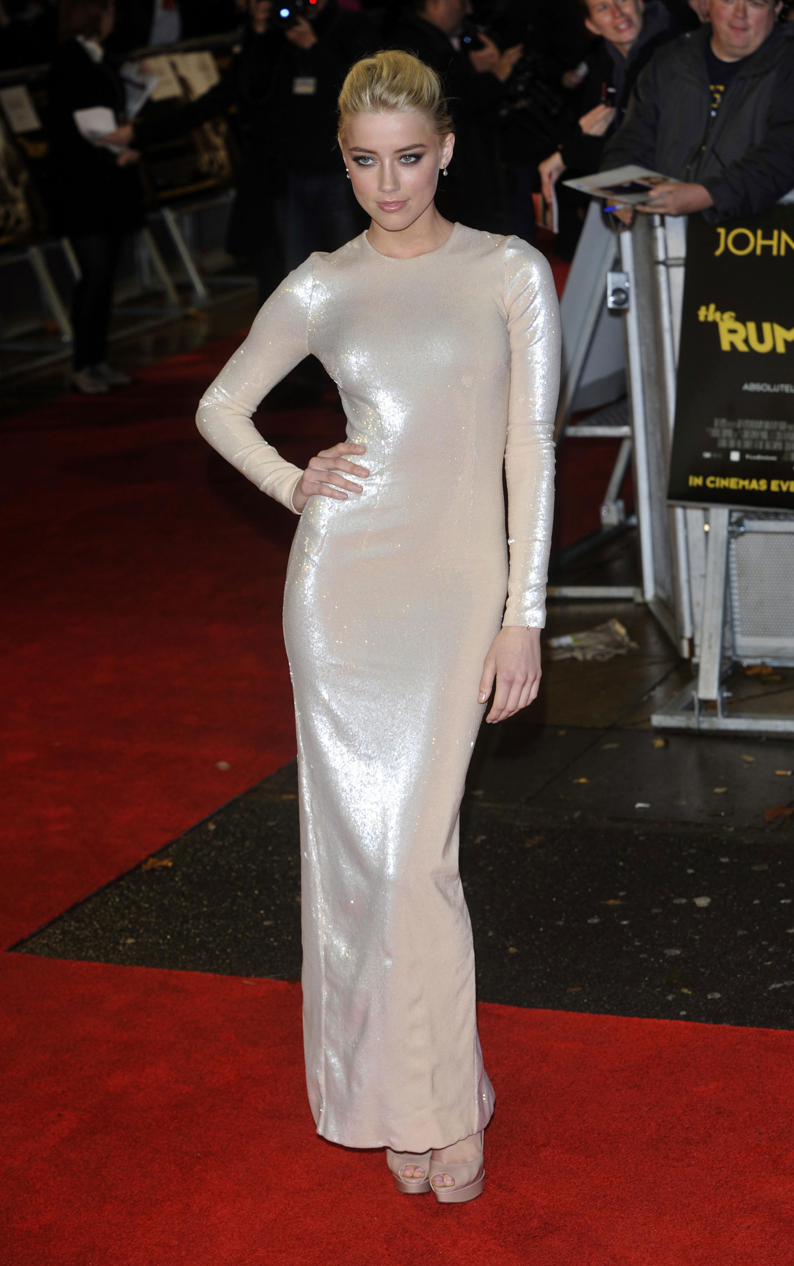Amber Heard At The Rum Diary Premiere In London 62 Photos HawtCelebs