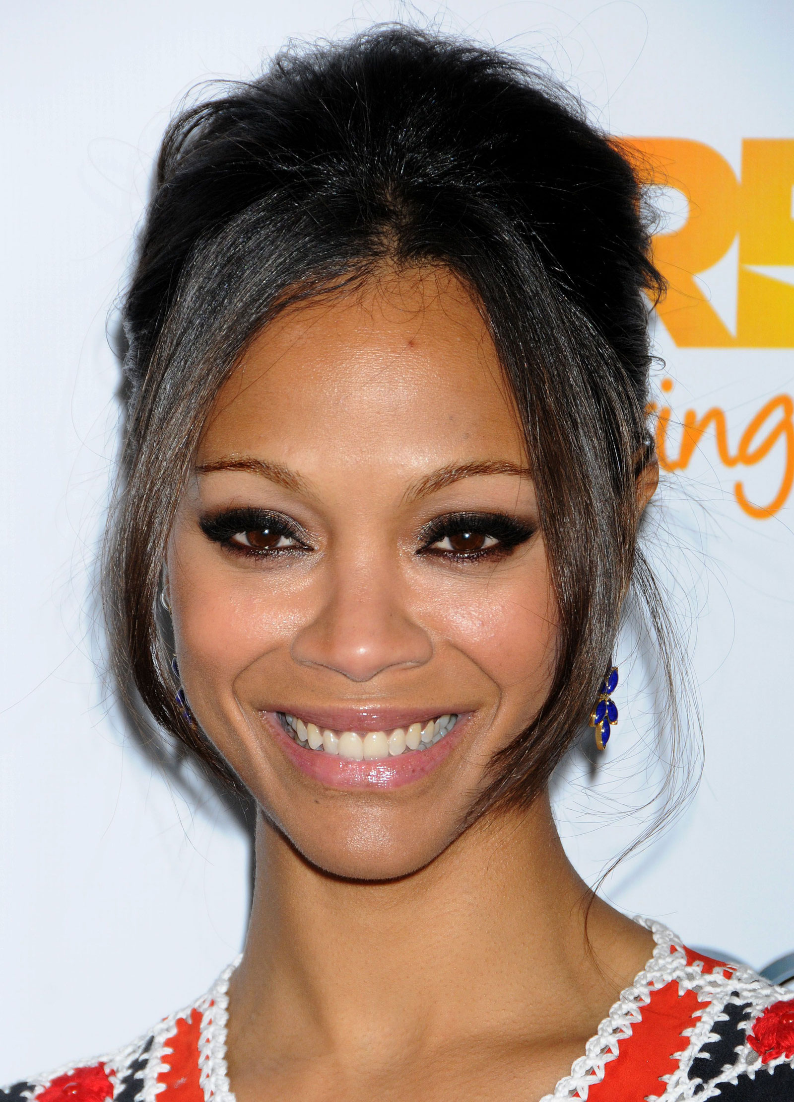 Zoe Saldana at The Trevor Projects 2011 in Los Angeles