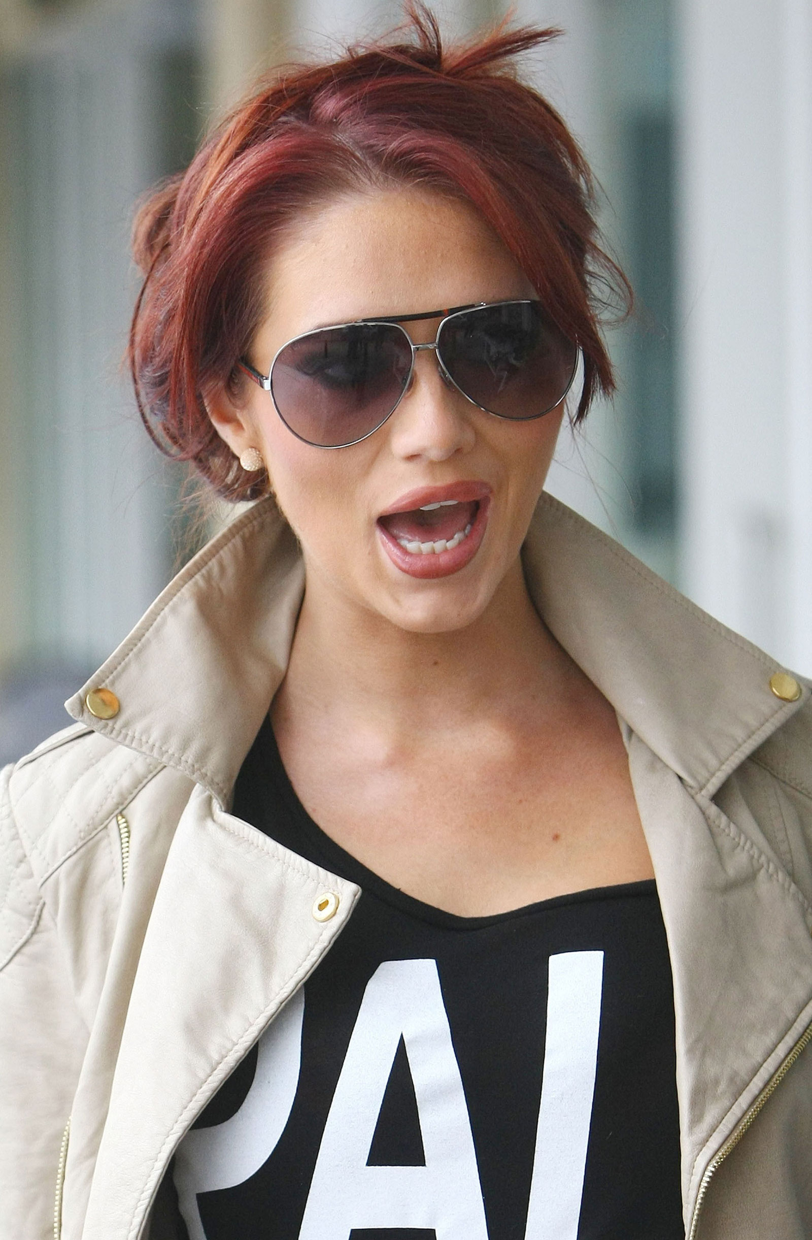 Amy Childs at a Salon in Brentwood  HawtCelebs