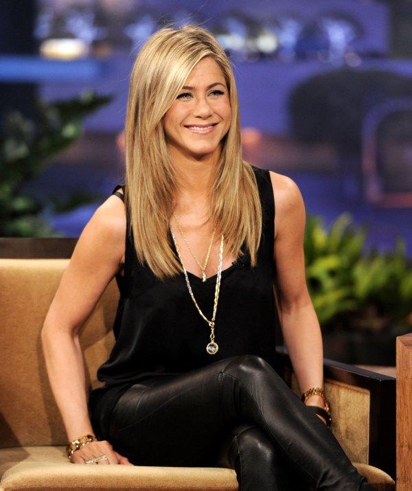 Jennifer Aniston Tonight Show With Jay Leno