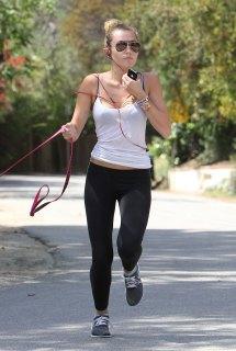 Miley Cyrus Running - Kid