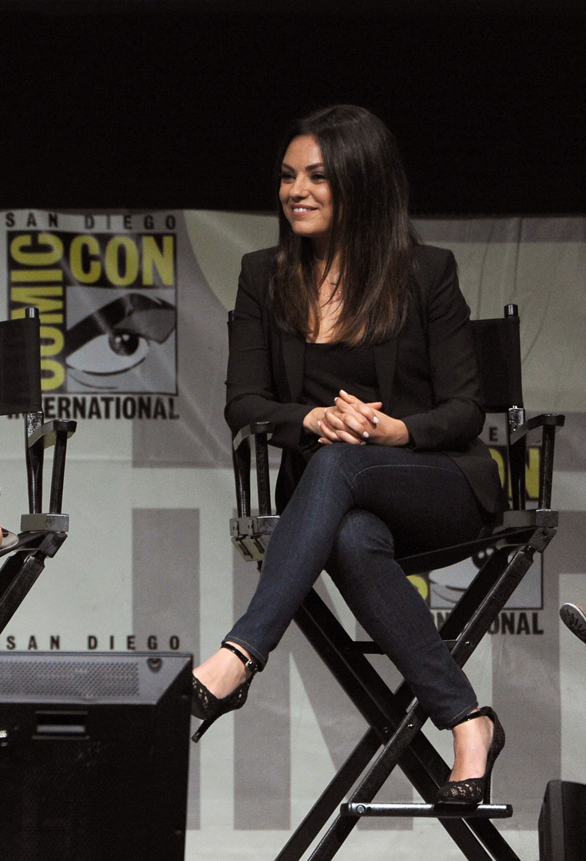 MILA KUNIS at Oz The Great and Powerful at ComicCon in San Diego  HawtCelebs