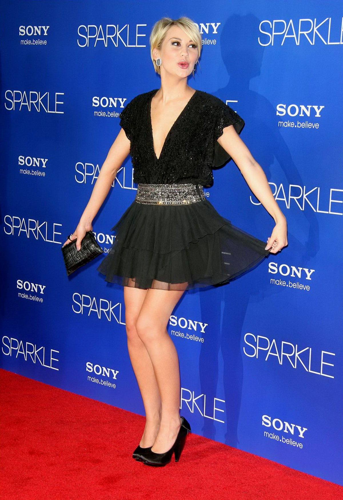 CHELSEA KANE at Sparkle Premiere in Hollywood  HawtCelebs