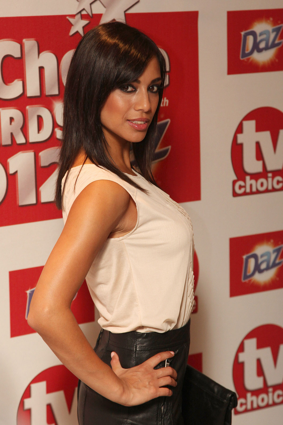 FIONA WADE at 2012 TV Choice Awards in London  HawtCelebs