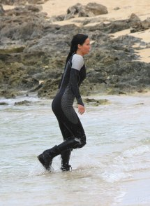 Jennifer Lawrence Hunger Games Catching Fire Set