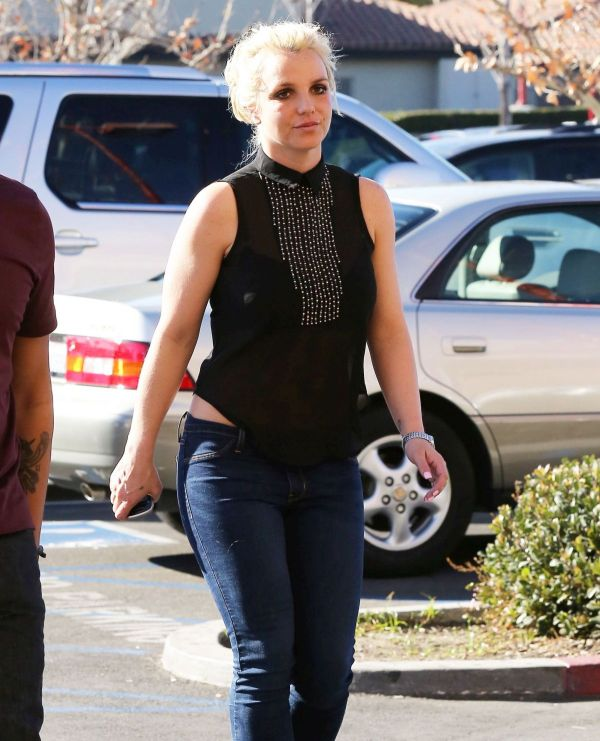Britney Spears And In Calabasas - Hawtcelebs