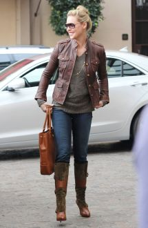 Katherine Heigl In Tight Jeans Beverly Hills