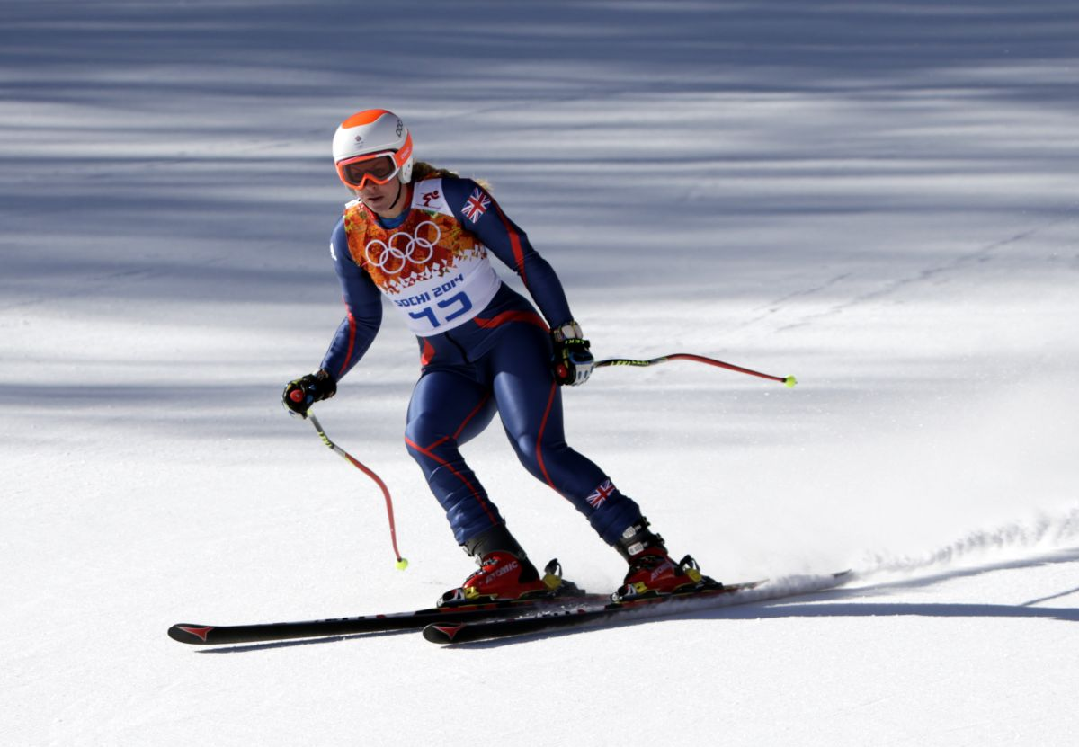 Chemmy Alcott At Winter Olympics In Sochi
