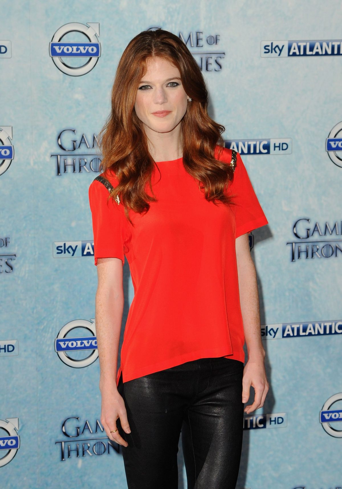 ROSE LESLIE At Game Of Thrones Fourth Season Premiere In