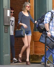 Taylor Swift Jean Shorts