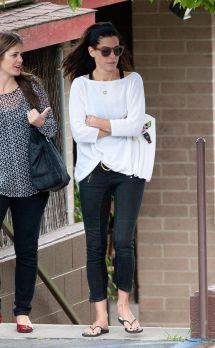 Sandra Bullock And In Beverly Hills - Hawtcelebs
