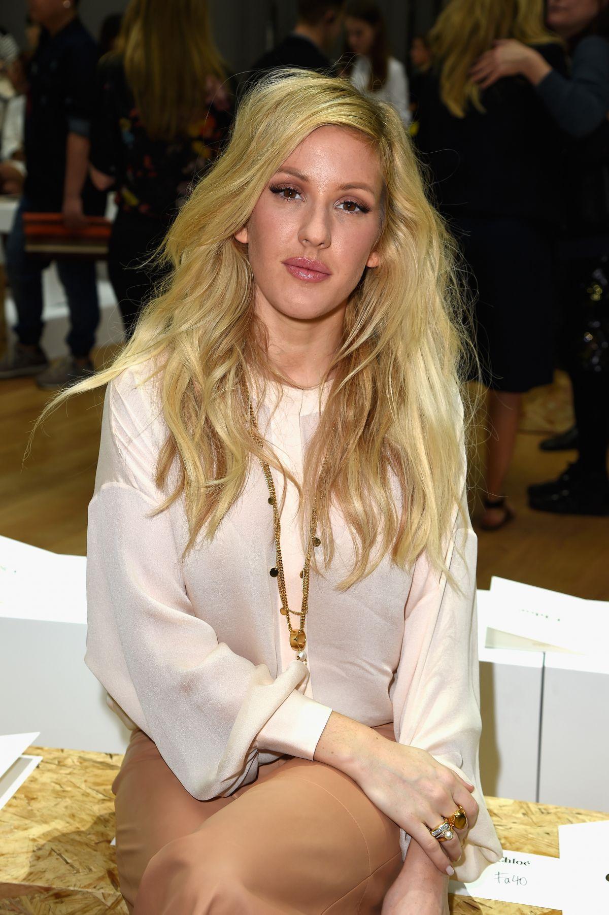ELLIE GOULDING at Chloe Show at Paris Fashion Week – HawtCelebs