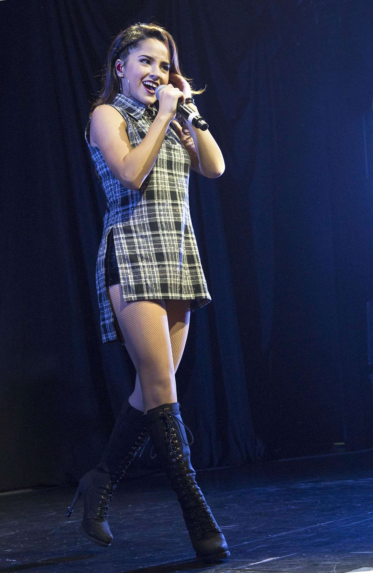 BECKY G Performs at Concert at Best Buy Theater in New York  HawtCelebs