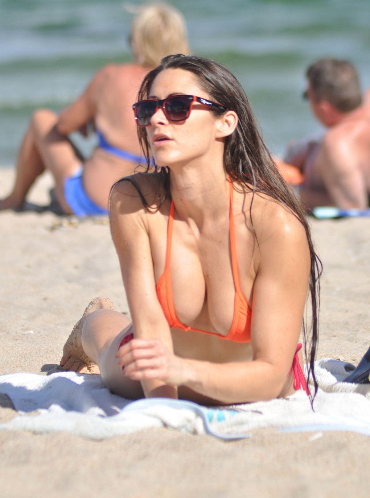 ANAIS ZANOTTI In Bikini On The Beach In Miami HawtCelebs