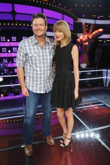 Taylor Swift the Voice 2014