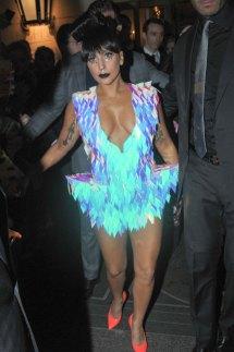 Lady Gaga Leaves Bristol Hotel In Paris - Hawtcelebs