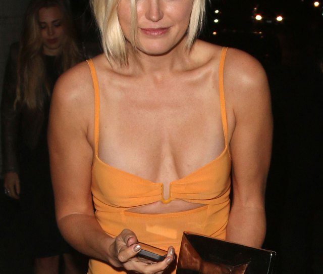 Malin Akerman Leaves Chateau Marmont In West Hollywood