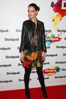 Katie Holmes Fashion Week 2015