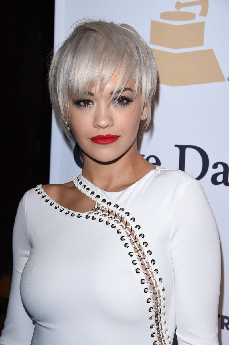 RITA ORA At Pre Grammy Gala And Salute To Industry Icons