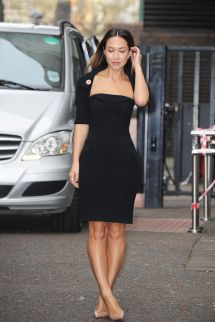 Myleene Klass Arrives Itv Studios In London - Hawtcelebs