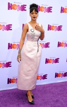 Rihanna Home Premiere In Westwood - Hawtcelebs
