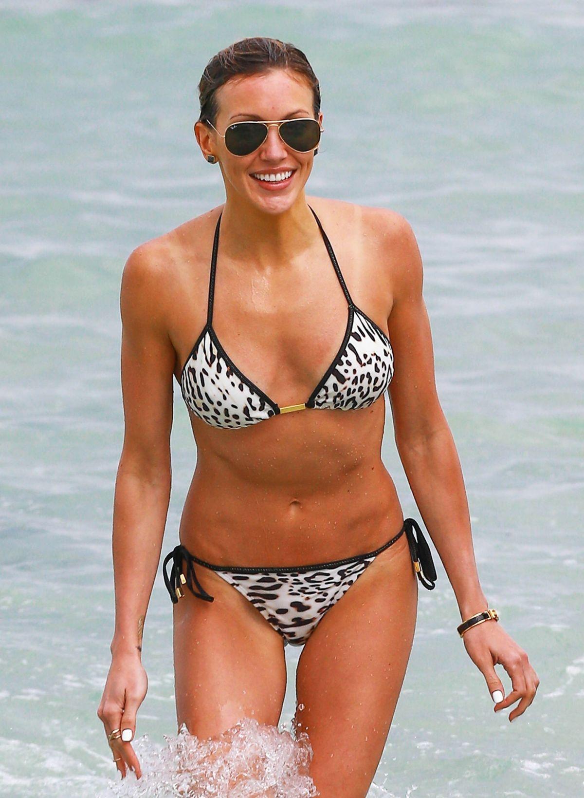 KATIE CASSIDY in Bikini at a Beach in Miami 04/22/2015 – HawtCelebs