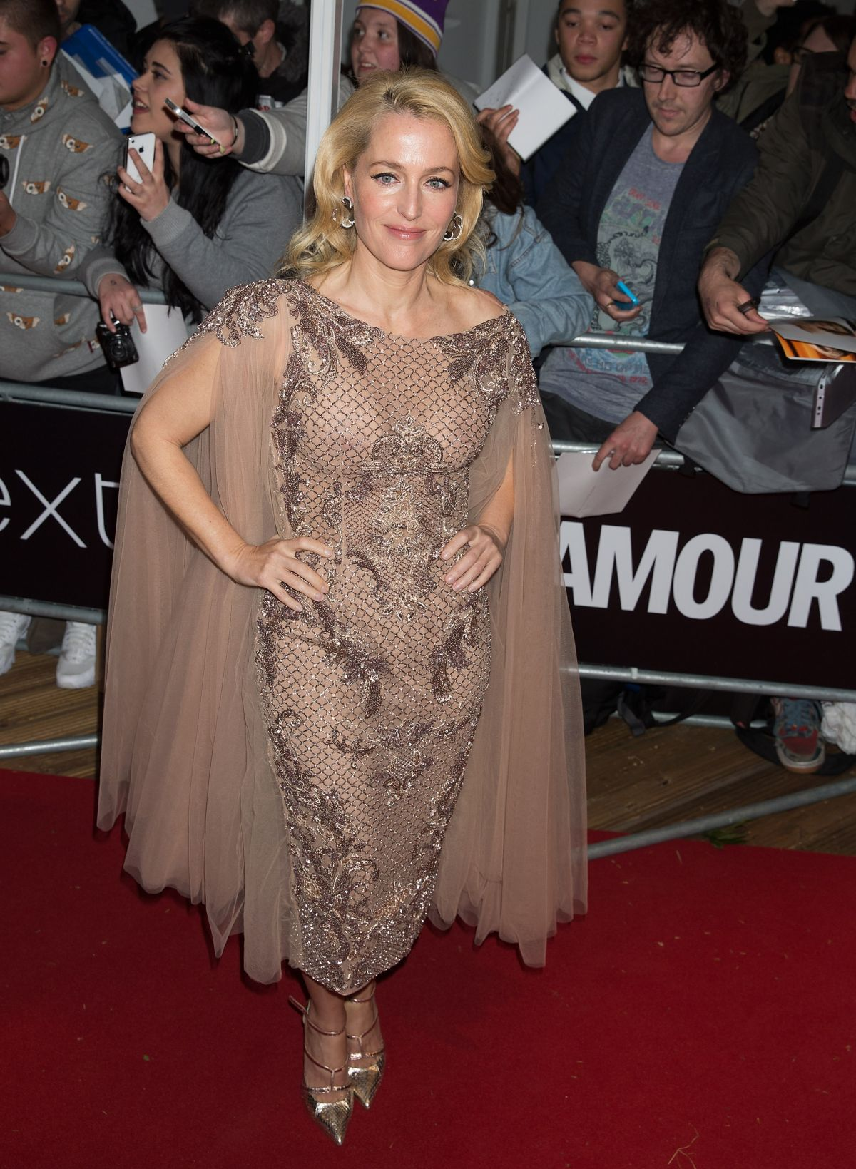 GILLIAN ANDERSON at Glamour Women of the Year Awards in