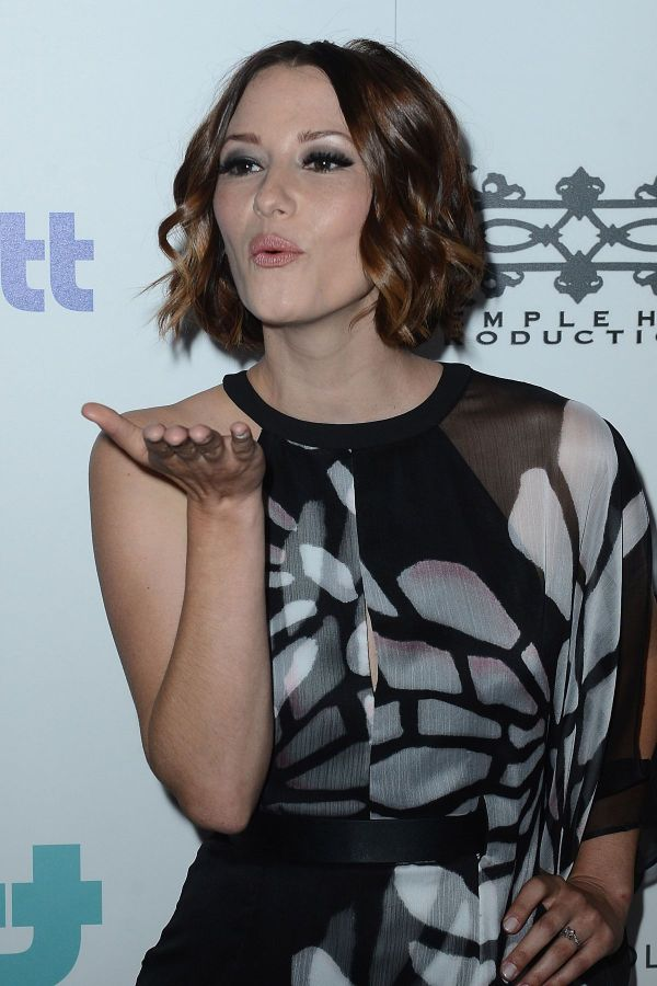 Chyler Leigh 2015 Thirst Gala In Beverly Hills - Hawtcelebs