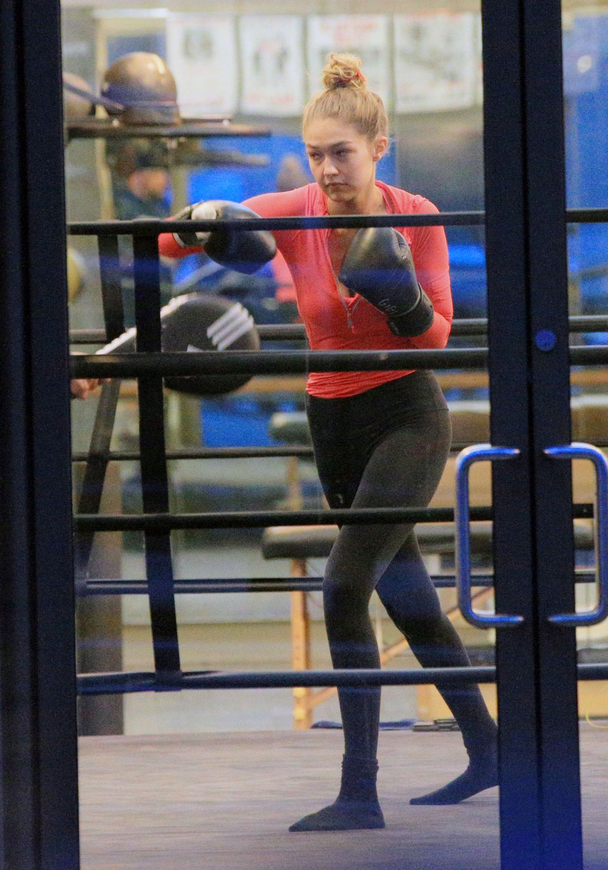 GIGI HADID at Boxing Class in New York 11012015  HawtCelebs