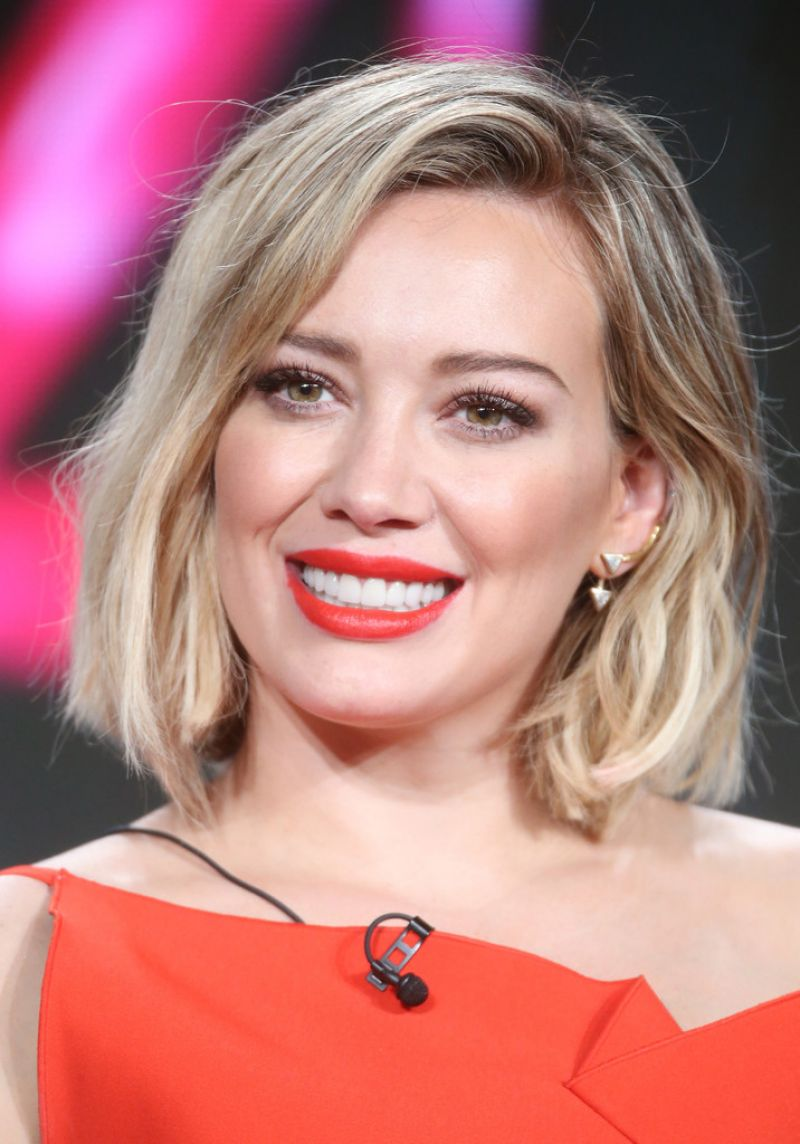 HILARY DUFF At Younger Panel 2016 Winter TCA Tour In