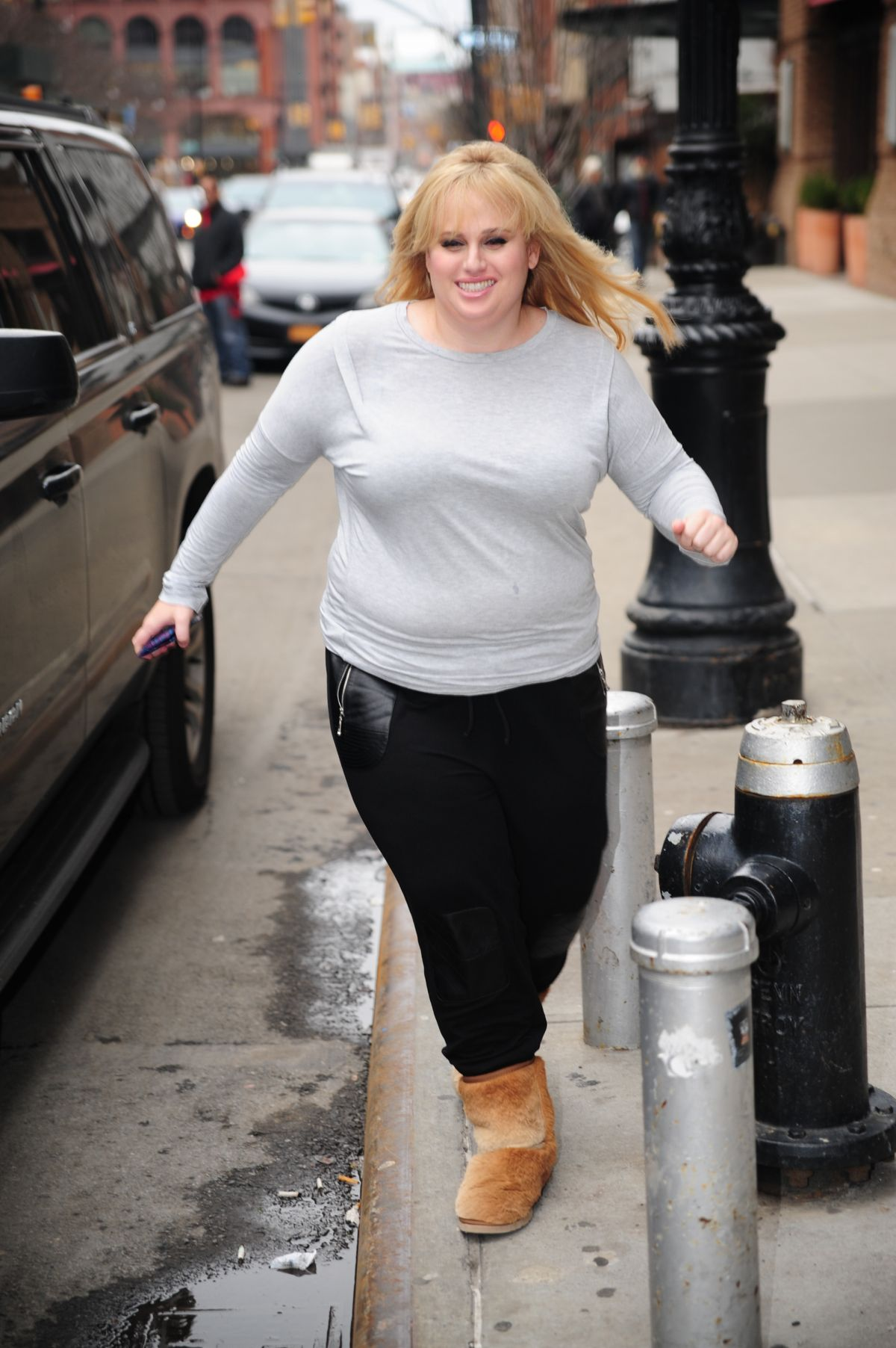 REBEL WILSON Out in New York 02042016  HawtCelebs