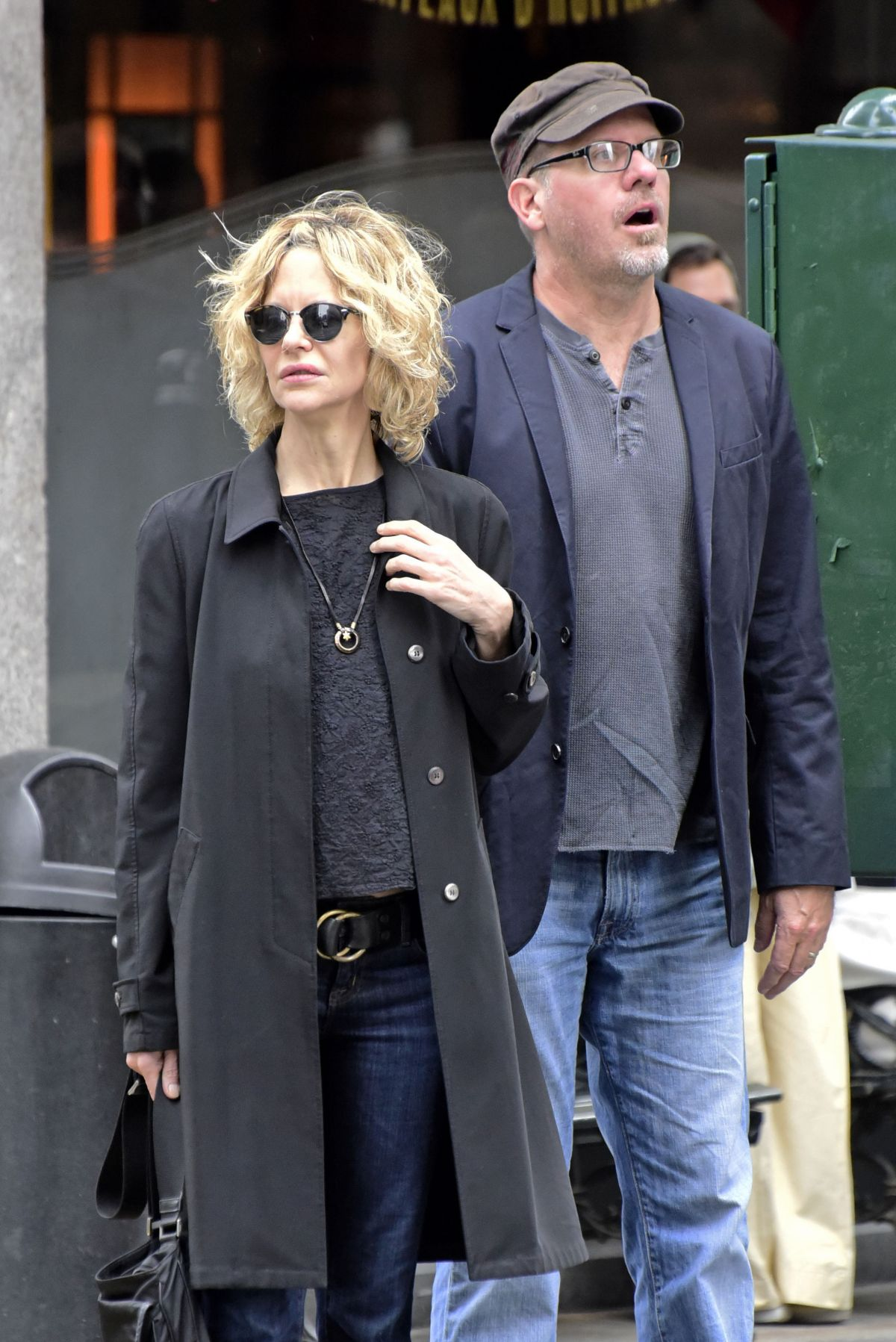 MEG RYAN Out and About in New York 04232016  HawtCelebs