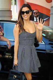 Eva Longoria Cannes Dress