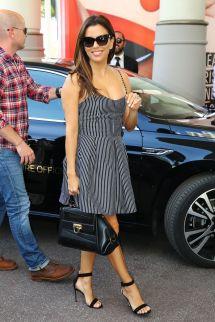Eva Longoria Arrives Martinez Hotel In Cannes 05 10
