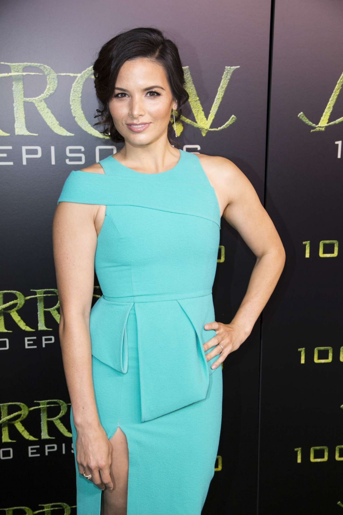 Fall Leaves Fox Wallpaper Katrina Law At Arrow 100th Episode Celebration In
