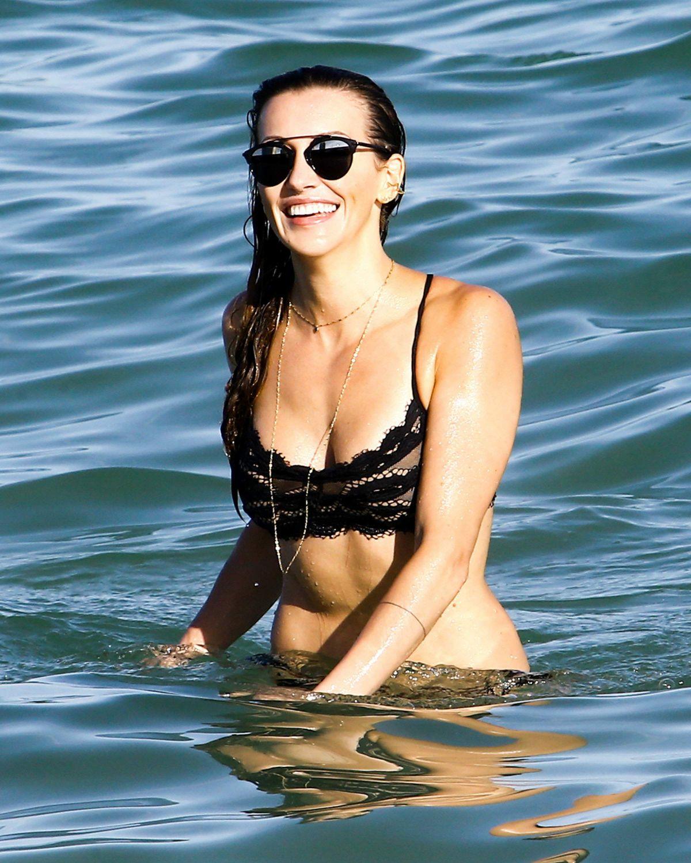 KATIE CASSIDY in Bikini at a Beach in Mami 12/13/2016 – HawtCelebs