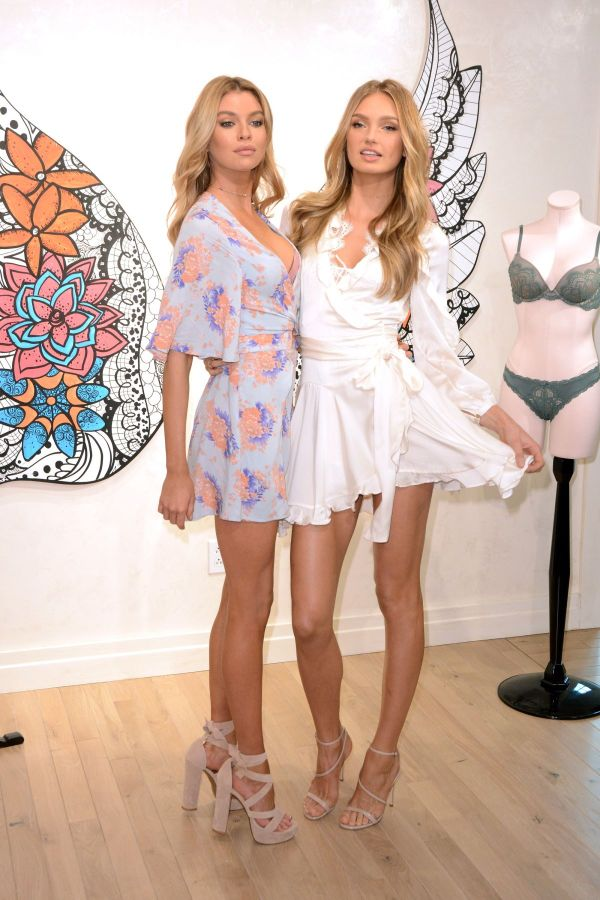 Romee Strijd And Stella Maxwell Angels Dream