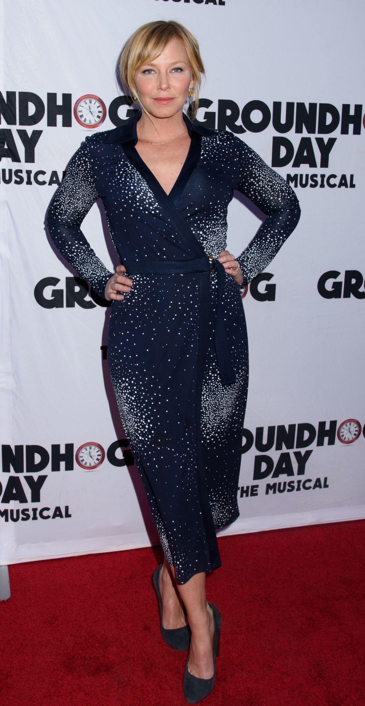KELLI GIDDISH at Groundhog Day Broadway Opening Night in